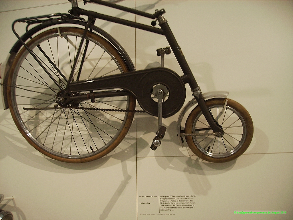 """Kurzrad"" or short bike is what Union called this 1960s addition to the emerging folding bike market; but they never hit it big."